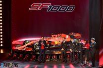 Ferrari SF1000 launch, 2020