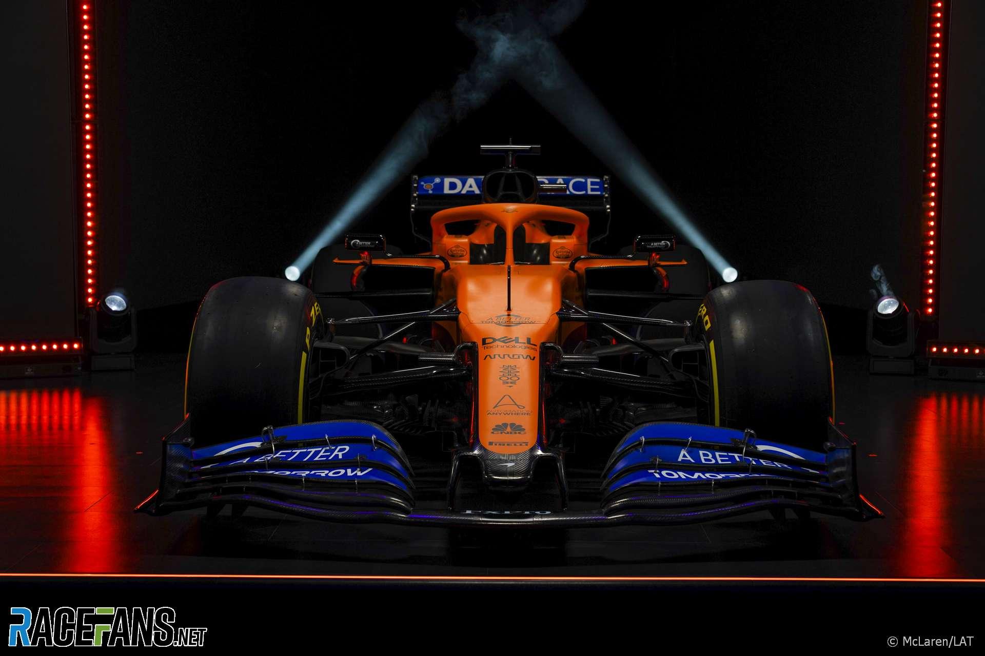 McLaren MCL35 launch, 2020