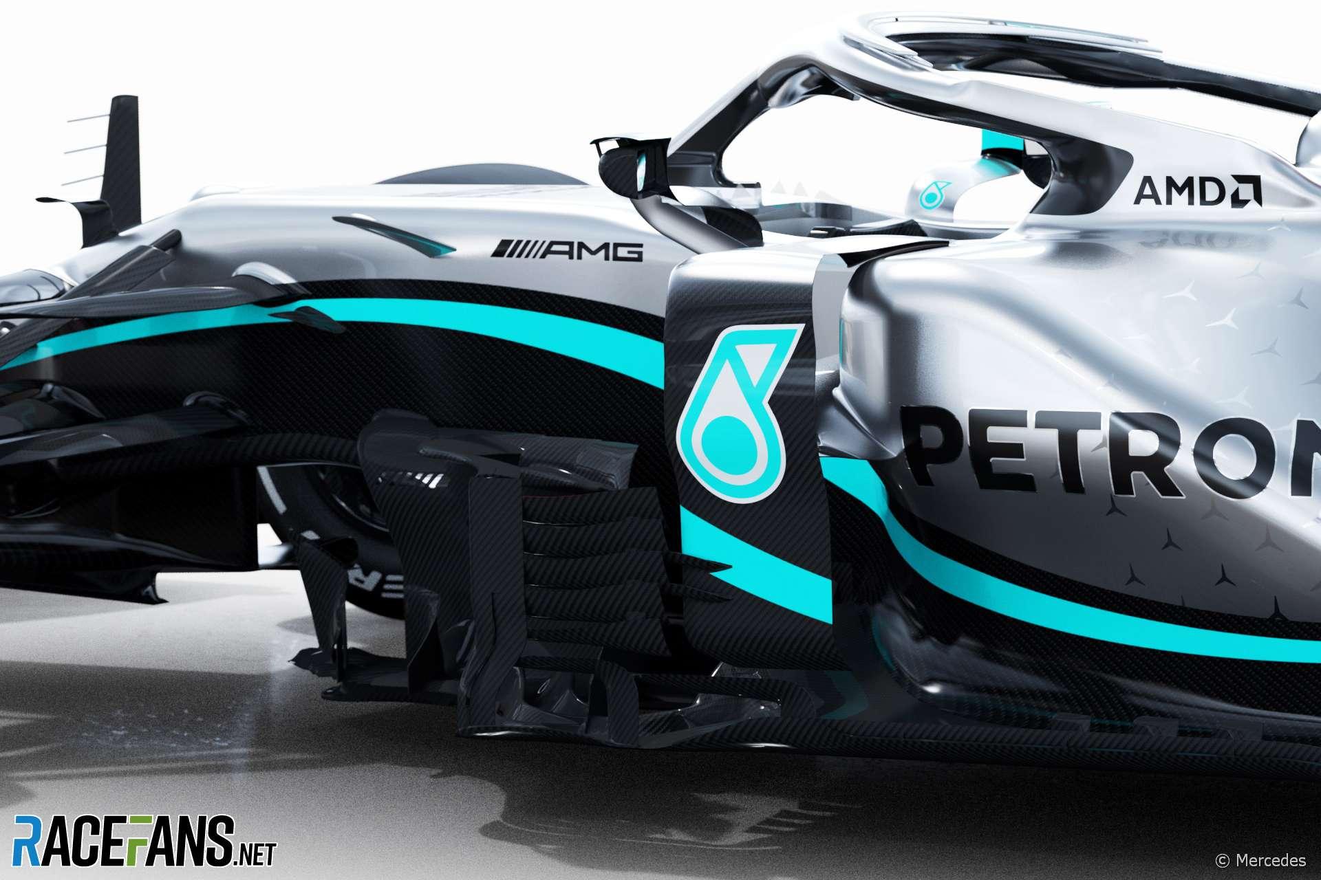 Mercedes W11, 2020