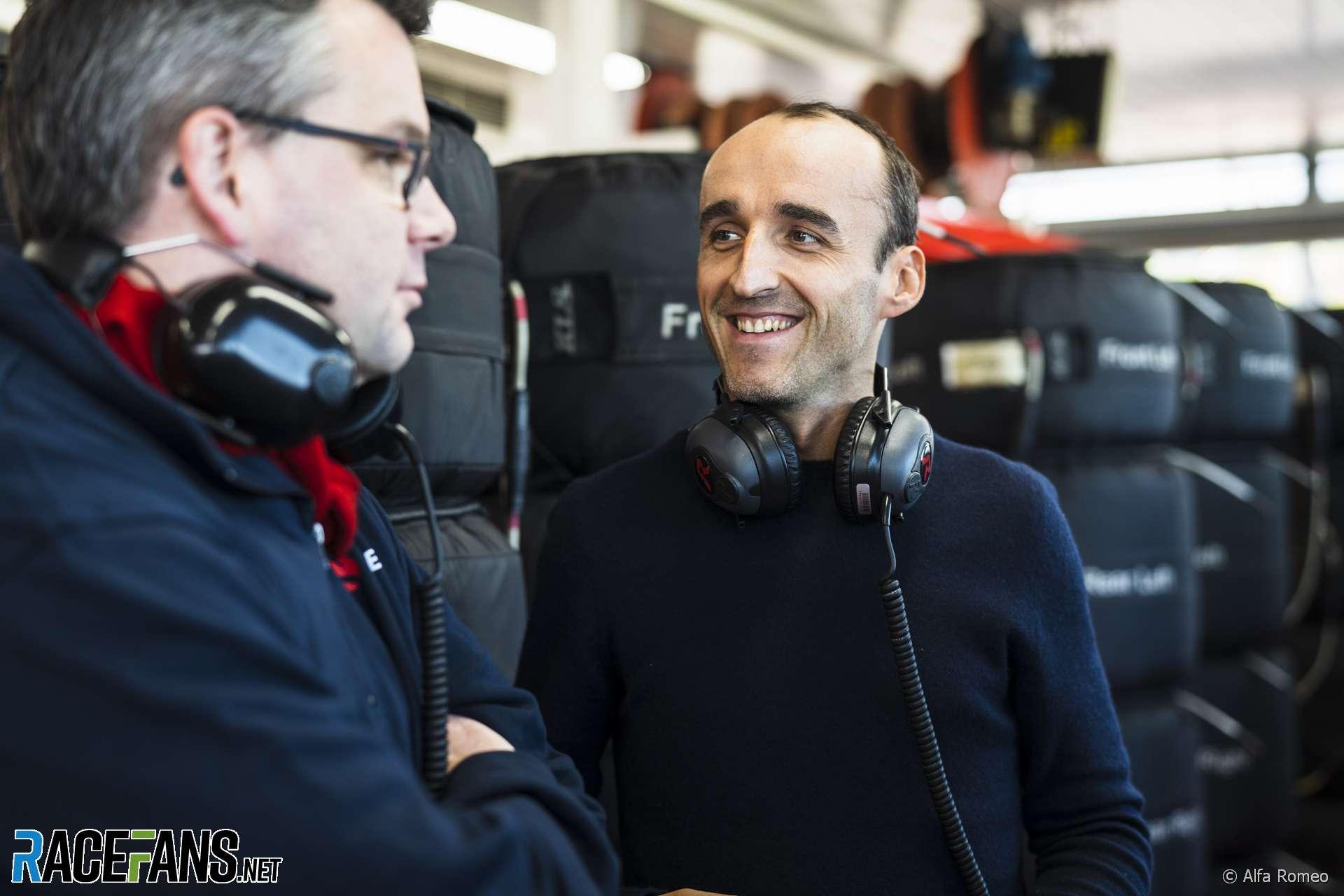 Robert Kubica, Alfa Romeo, Fiorano ,2020