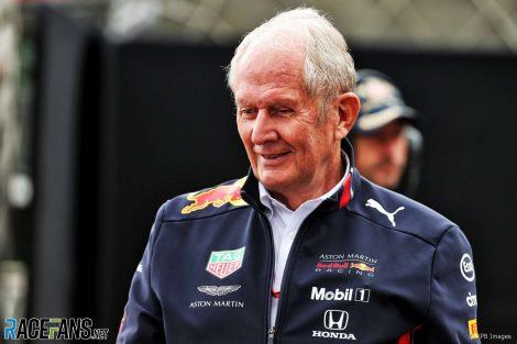 Helmut Marko, Red Bull, Monaco, 2019