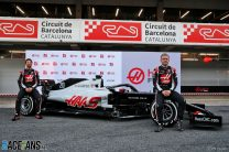 First pictures: New Haas makes its debut at testing