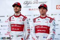 Official: Raikkonen and Giovinazzi confirmed for third year at Alfa Romeo