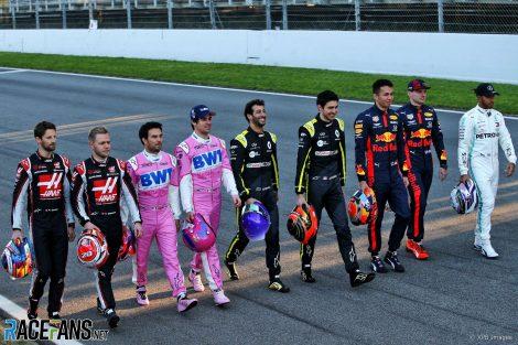 Drivers, Circuit de Catalunya, 2020