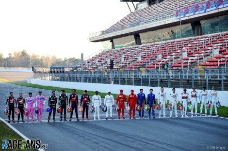 Drivers, Circuit de Catalunya