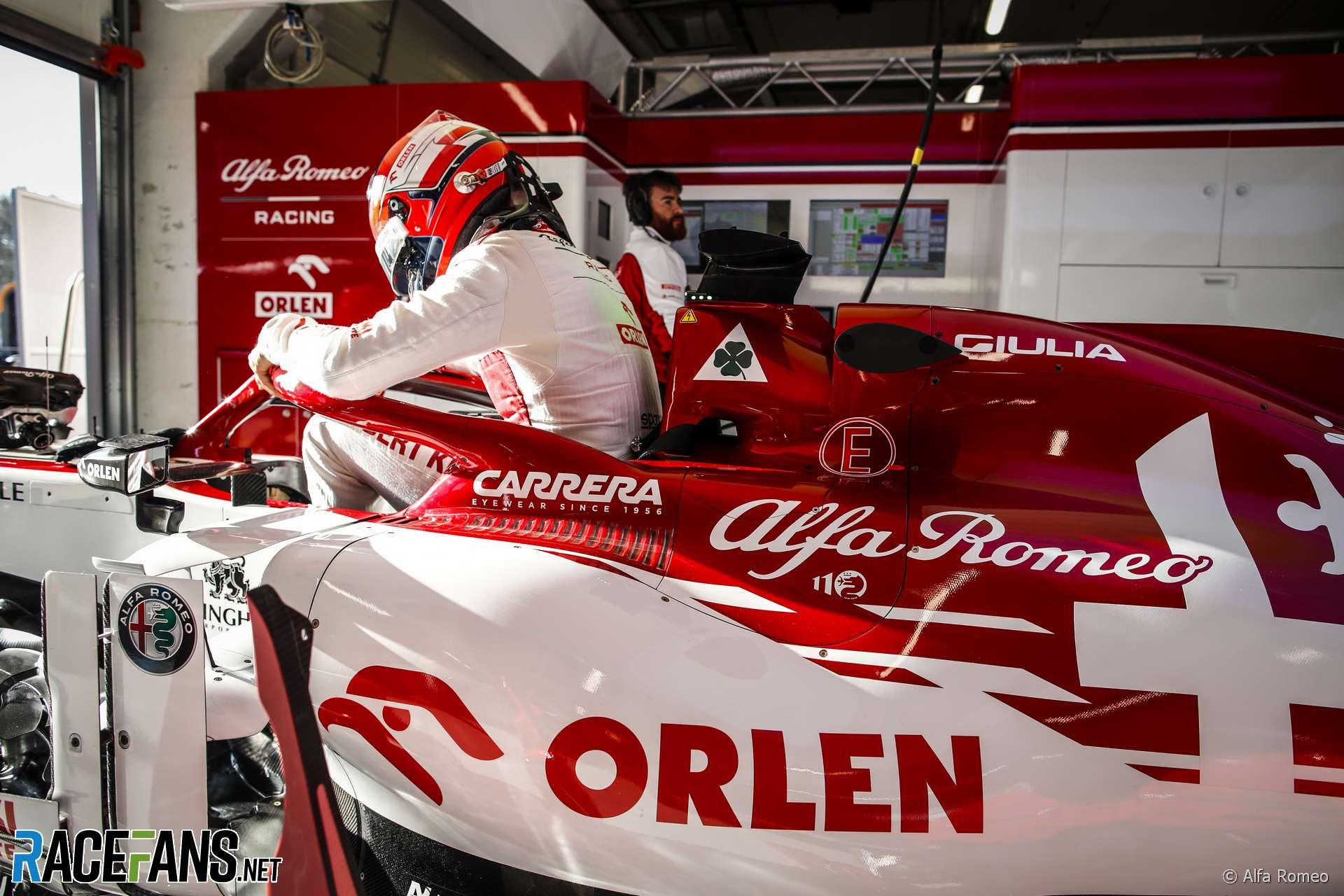 Robert Kubica, Alfa Romeo, Circuit de Catalunya, 2020