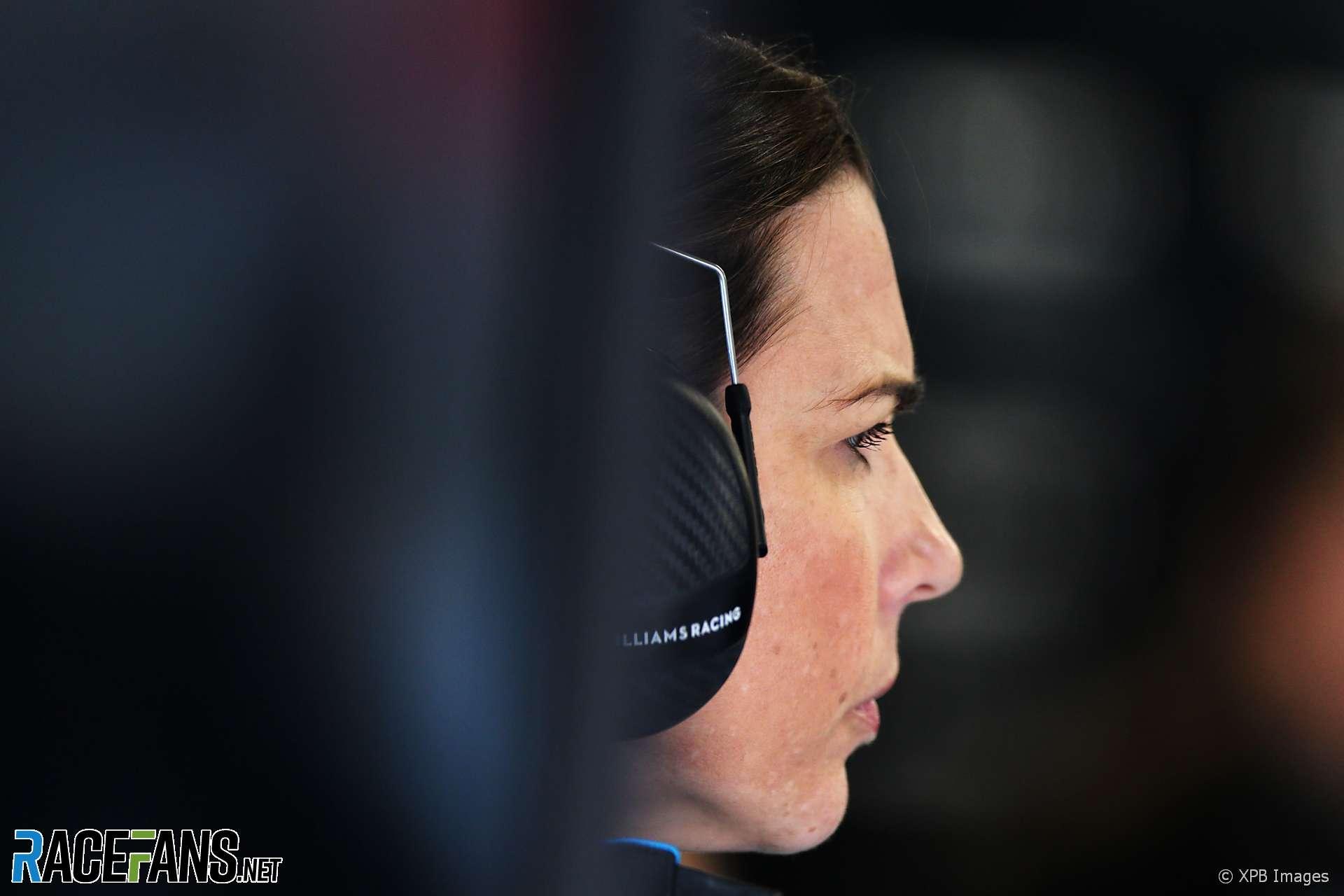 Claire Williams, Williams, Circuit de Catalunya, 2020