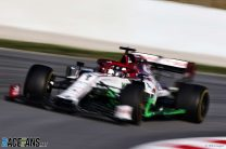 Alfa Romeo are the second team to beat their 2019 testing time