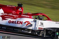 Kimi Raikkonen, Alfa Romeo, Circuit de Catalunya, 2020