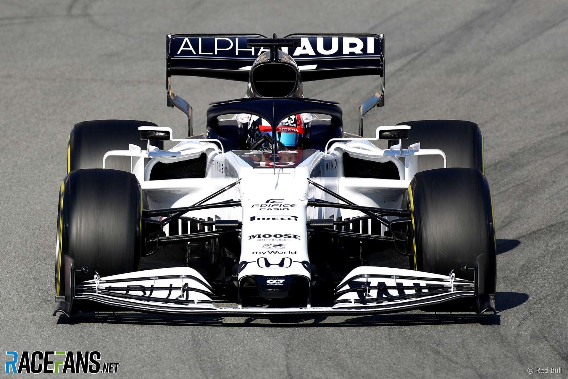 Pierre Gasly, AlphaTauri, Circuit de Catalunya, 2020