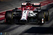 Raikkonen quickest before stopping, while electrical fault halts Mercedes