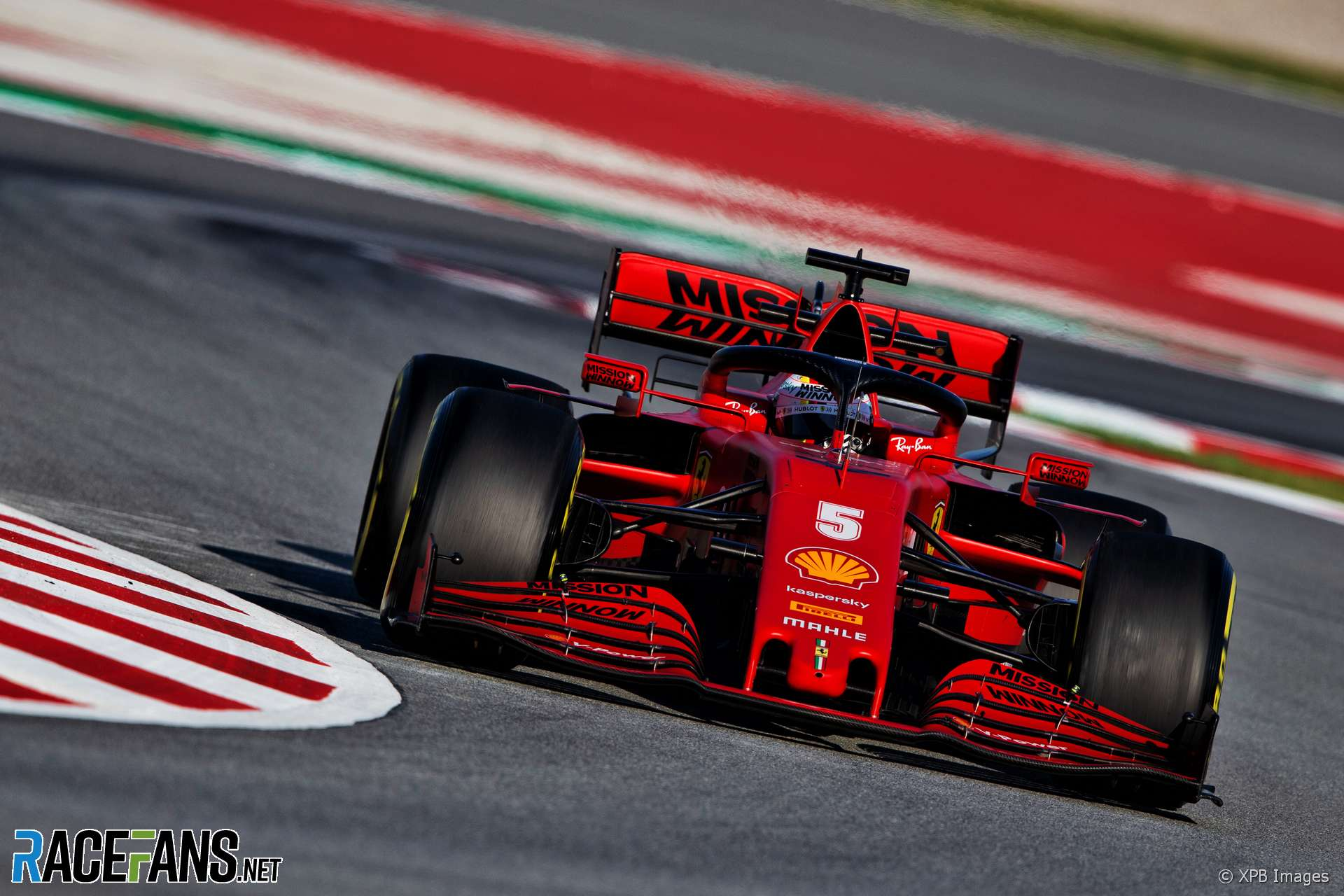Vettel Encouraged By Early Signs Of Ferrari Downforce Gain Racefans