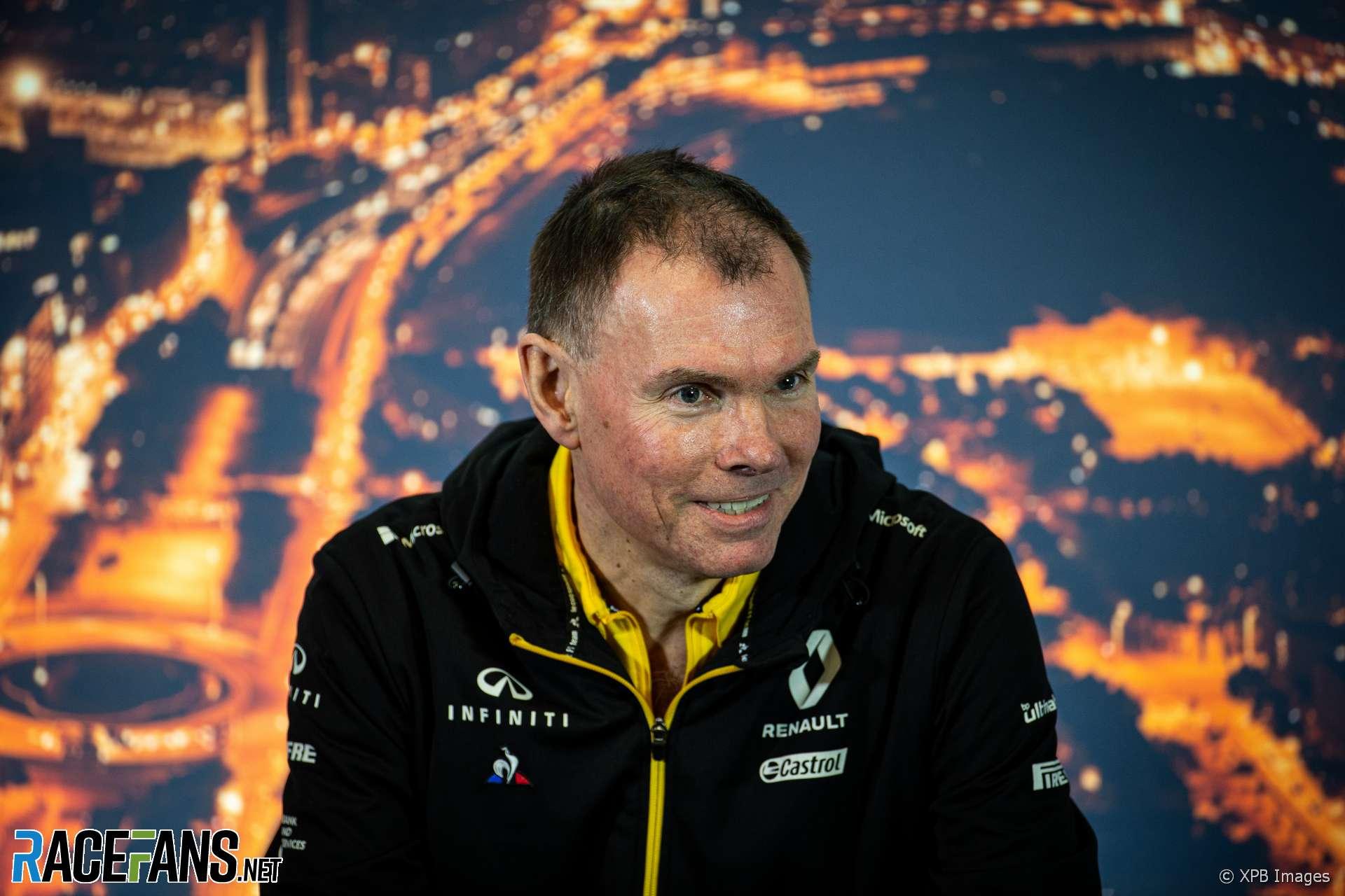 Alan Permane, Renault, Circuit de Catalunya, 2020