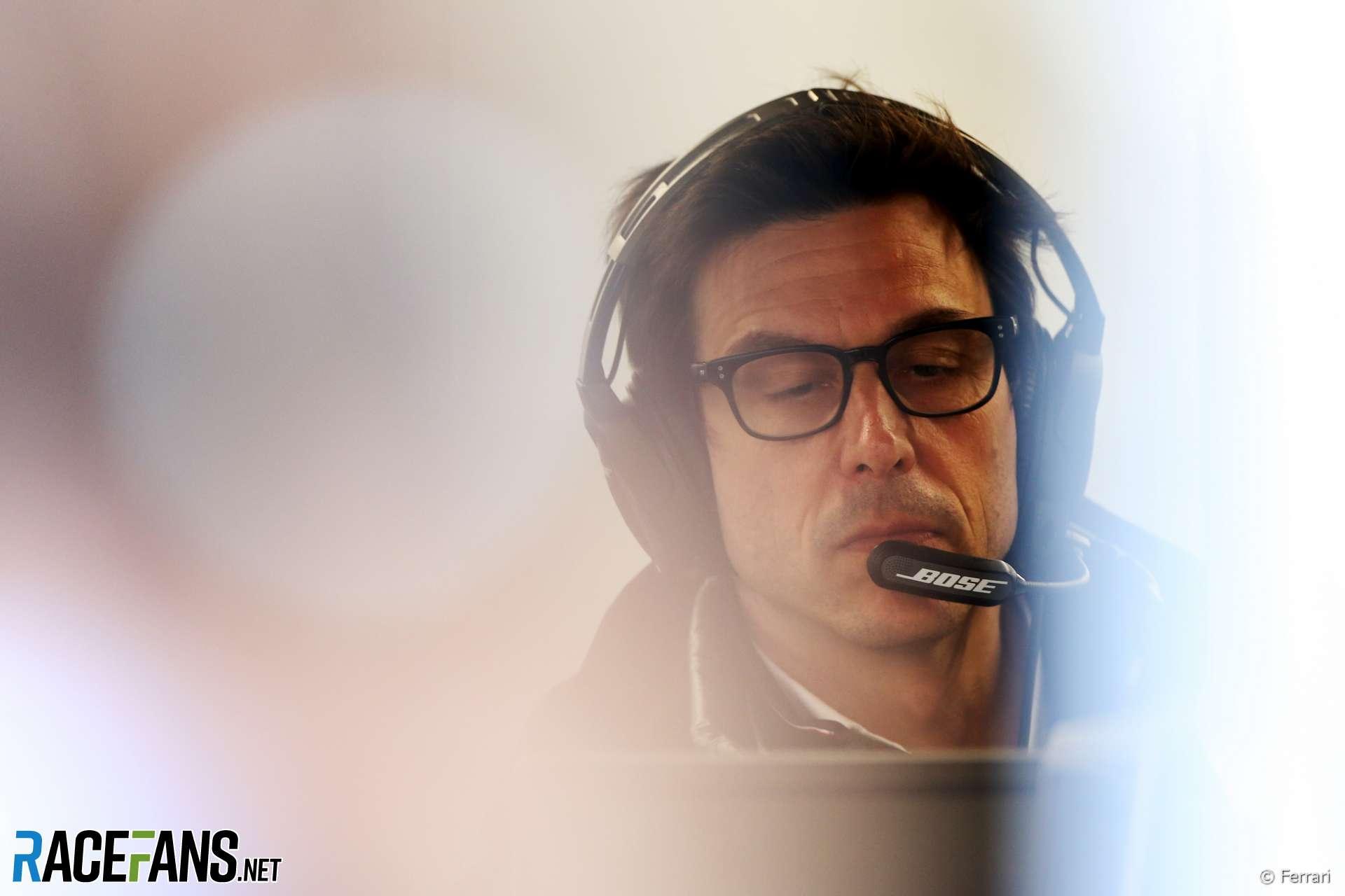 Toto Wolff, Mercedes, Circuit de Catalunya, 2020