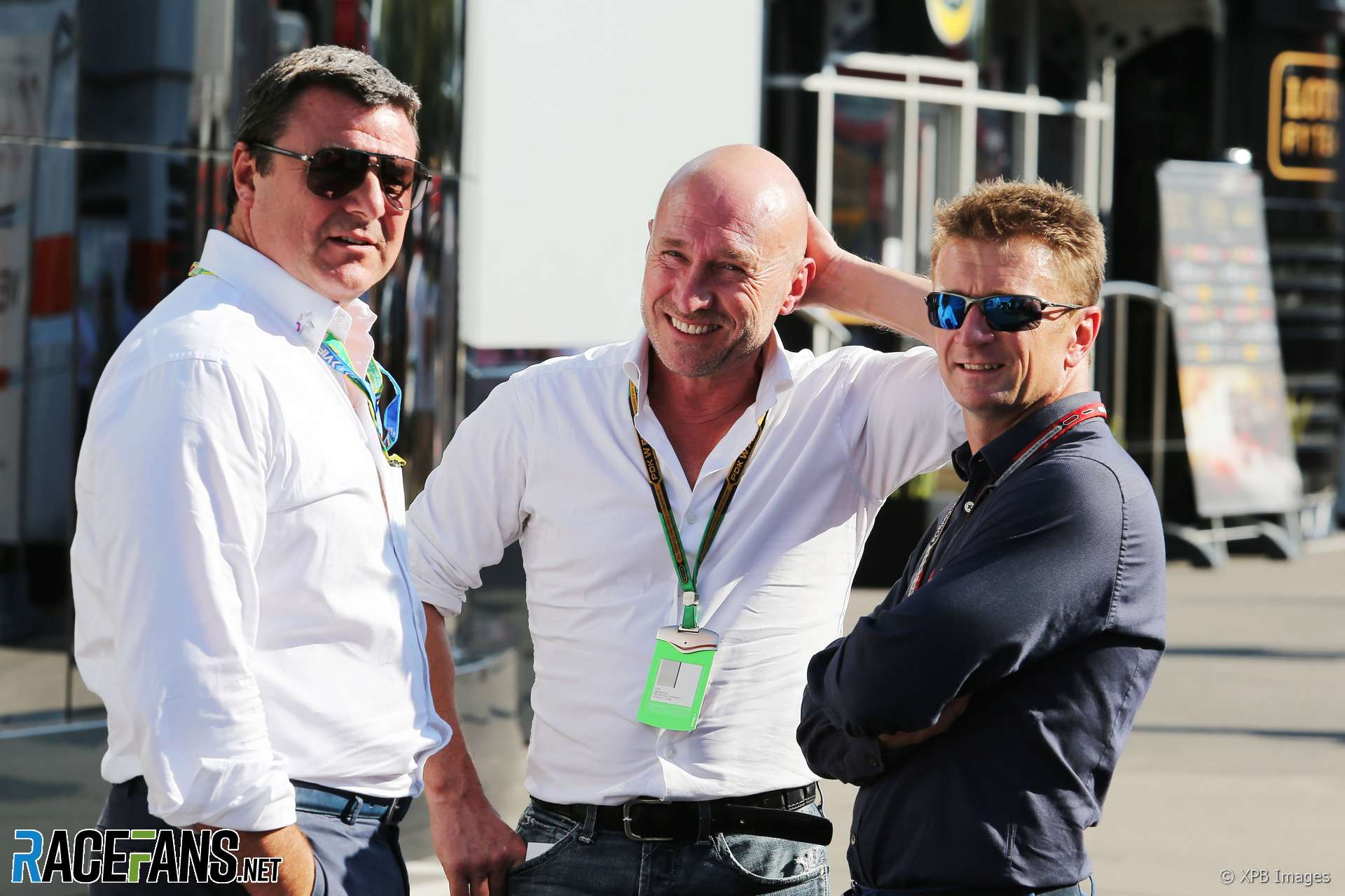 Mark Blundell, Perry McCarthy, Allan McNish, Monza, 2014
