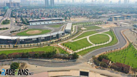 Hanoi Street Circuit, Vietnam, 2020