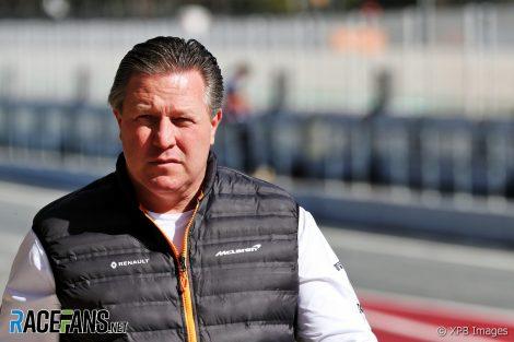 Zak Brown, McLaren, Circuit de Catalunya, 2020
