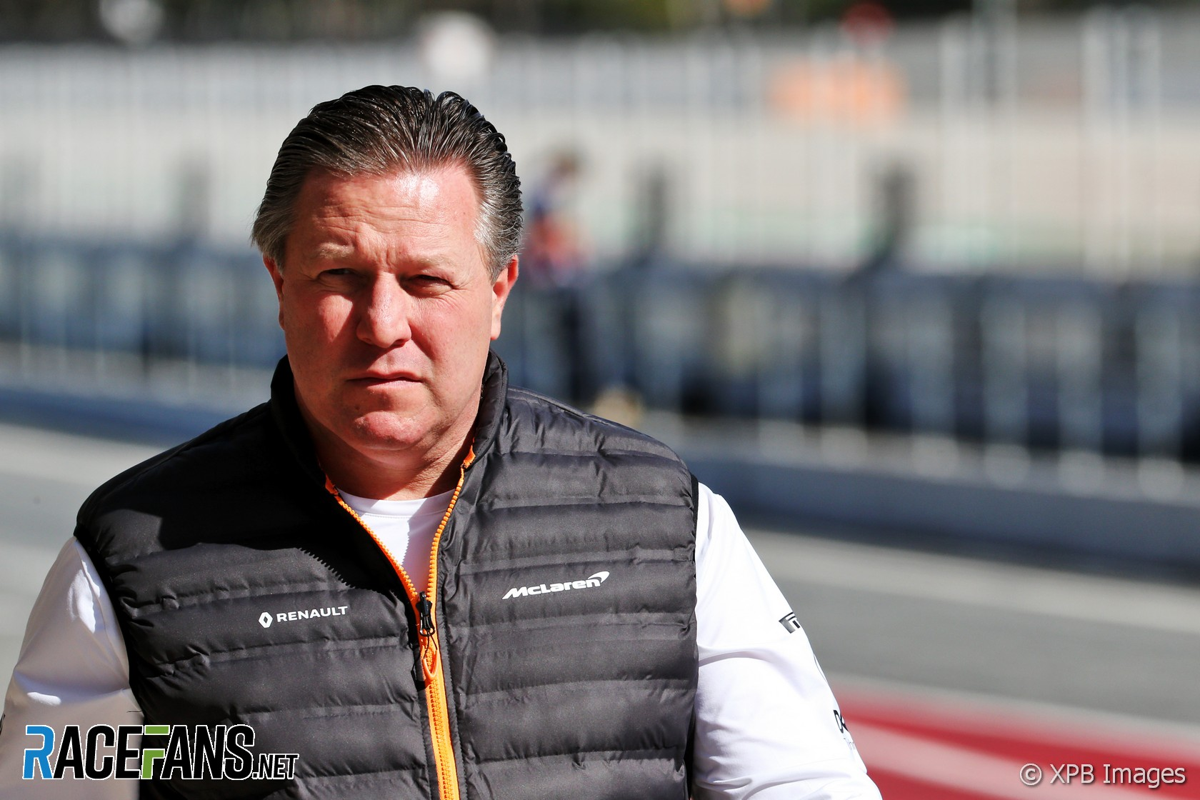 Zak Brown, McLaren, Circuit de Catalunya, 2020