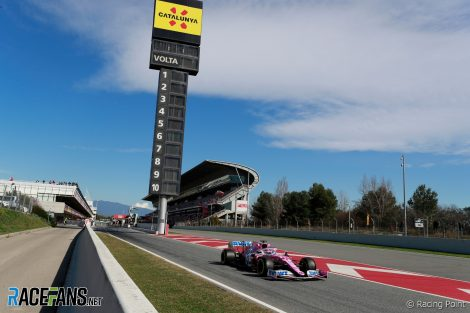 Lance Stroll, Racing Point, Circuit de Catalunya, 2020