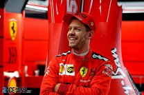 """Vettel says Ferrari has made a """"huge leap forward"""" since he joined"""