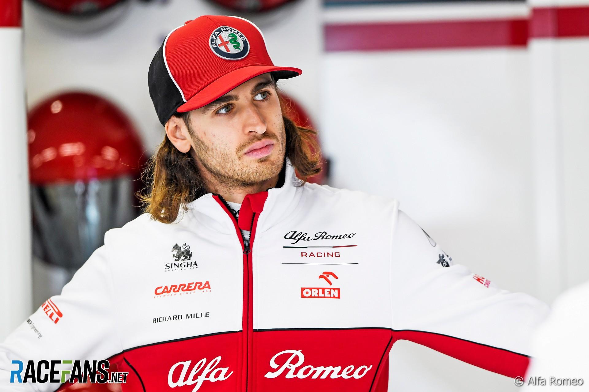 Antonio Giovinazzi, Alfa Romeo, Circuit de Catalunya, 2020