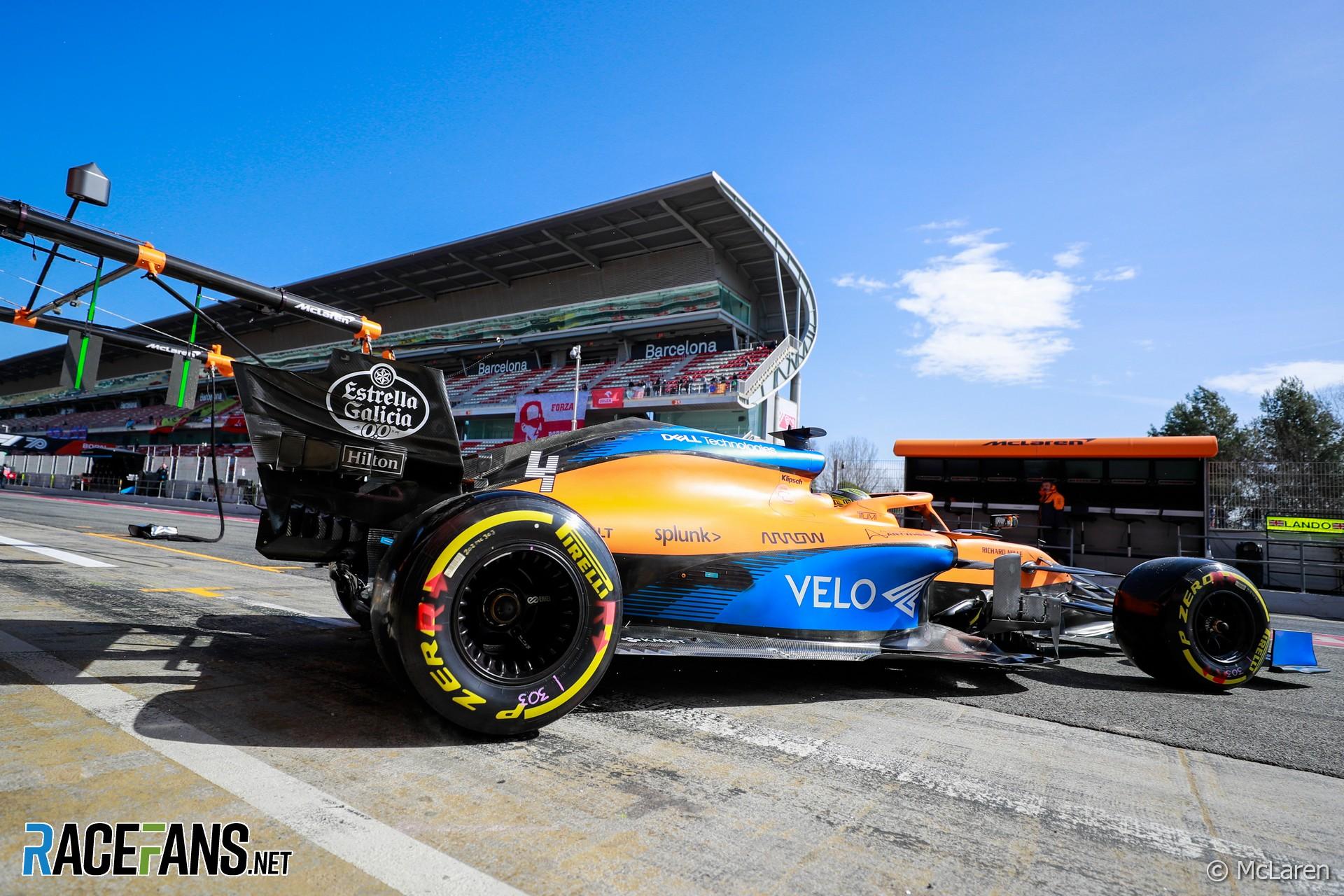 Lando Norris, McLaren, Circuit de Catalunya, 2020