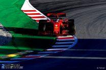 Sebastian Vettel, Ferrari, Circuit de Catalunya, 2020