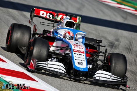 George Russell, Williams, Circuit de Catalunya, 2020