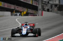 George Russell, Williams, Circuit de Catalunya, 2020