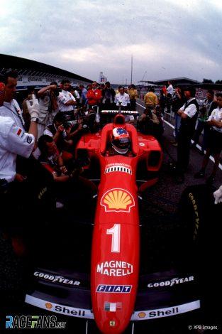 Michael Schumacher, Ferrari, 1996