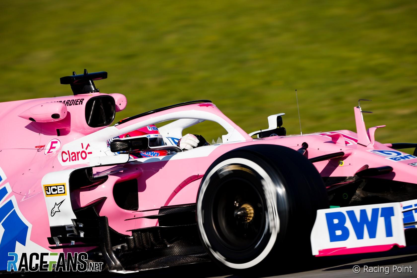 Sergio Perez, Racing Point, Circuit de Catalunya, 2020