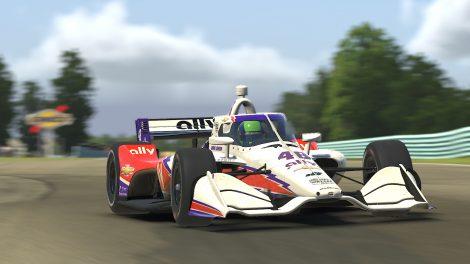 Jimmie Johnson, IndyCar iracing Challenge, Watkins Glen, 2020