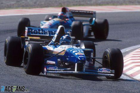 David Coulthard, Williams, TI Aida, 1995