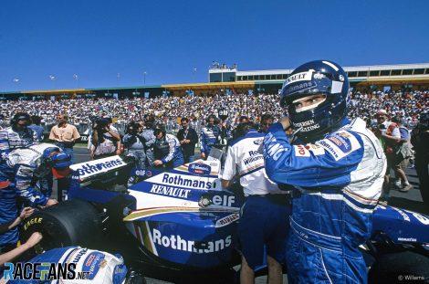 Damon Hill, Williams, Albert Park, melbourne, 1996