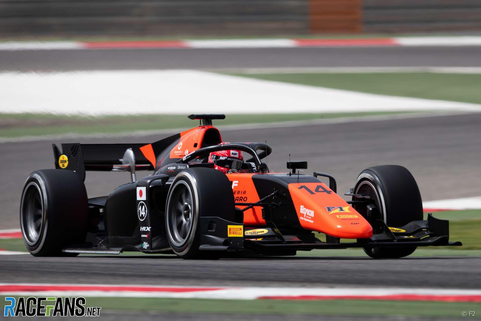 Nobuharu Matsushita, MP Motorsport, Bahrain International Circuit, 2020
