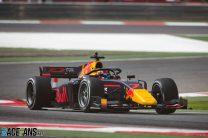 Yuki Tsunoda, Carlin, Formula 2, Bahrain International Circuit, 2020