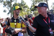 """F1 was """"playing with fire"""" trying to race in Melbourne, says Ricciardo"""