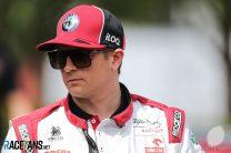 Kimi Raikkonen, Alfa Romeo, Albert Park, 2020