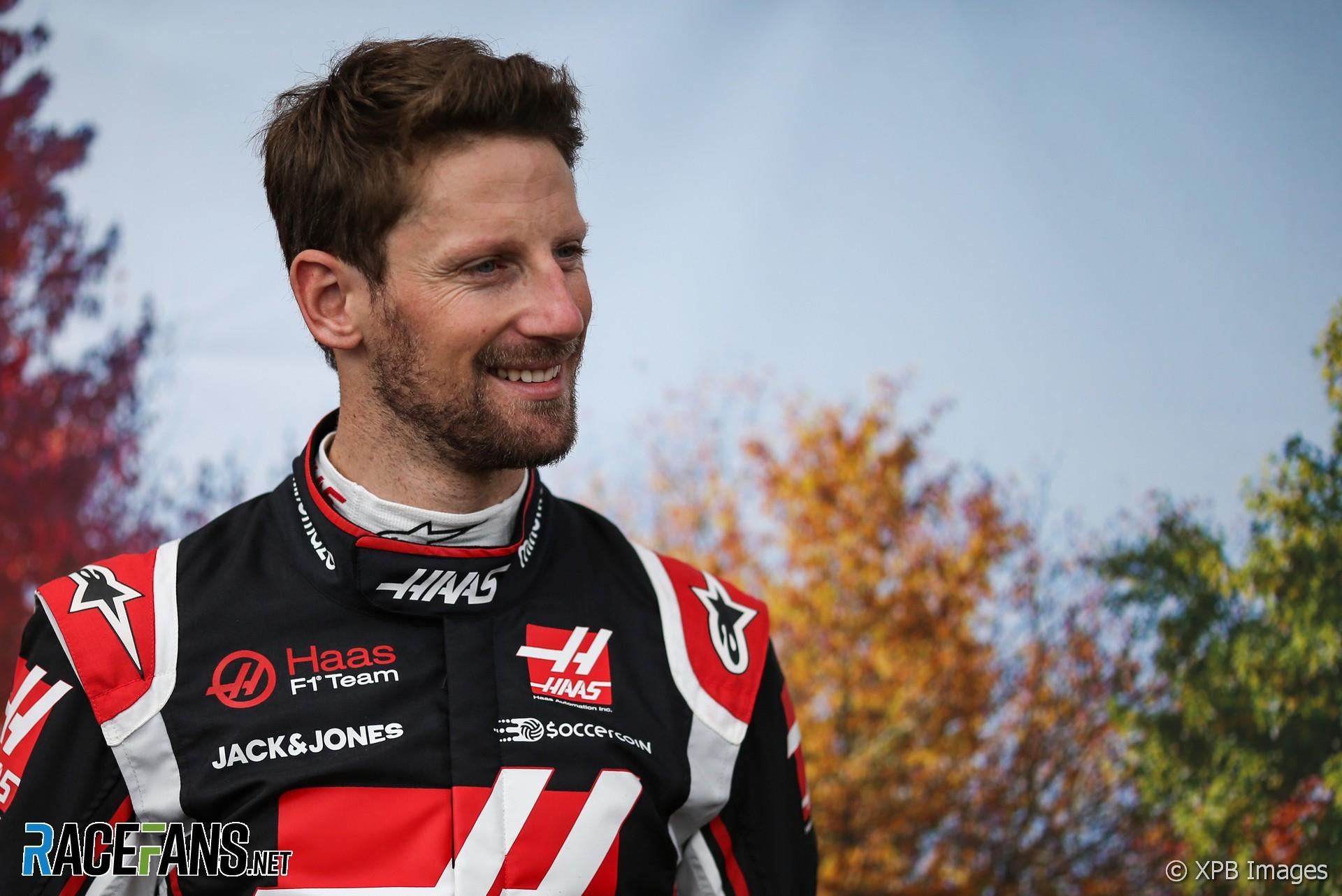 Romain Grosjean, Haas, Albert Park, 2020