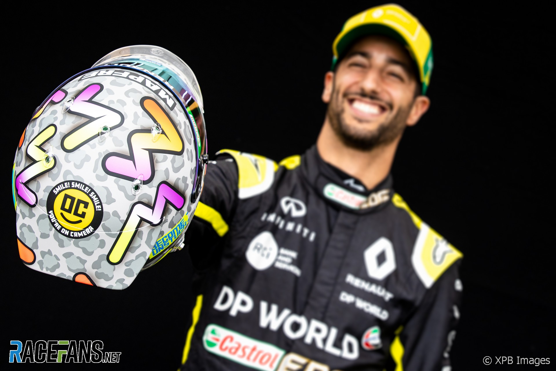 Daniel Ricciardo, Renault, Albert Park, 2020