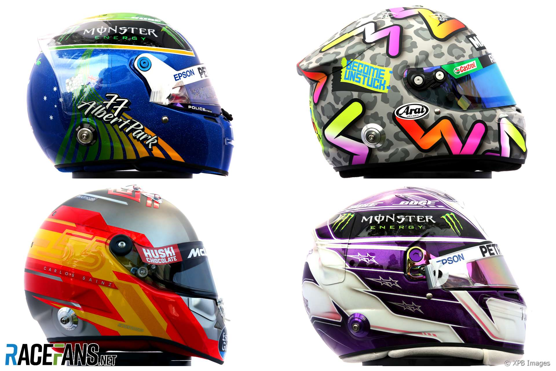 Pictures Every F1 Driver S Helmet For The 2020 Season Racefans