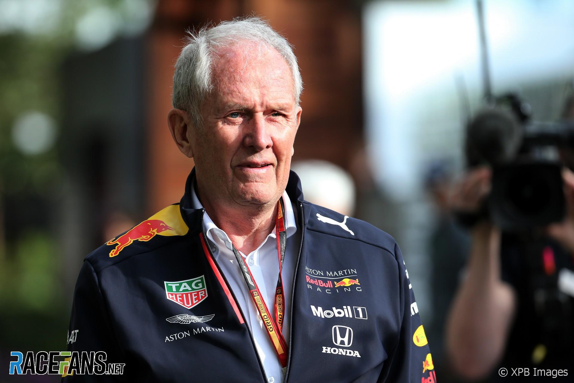 Helmut Marko, Red Bull, Melbourne, 2020