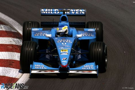 Giancarlo Fisichella, Benetton, Circuit Gilles Villeneuve, 2000