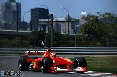 Michael Schumacher, Ferrari, Circuit Gilles Villeneuve, 2000