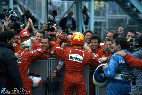 Michael Schumacher, Circuit Gilles Villeneuve, 2000