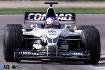 Jenson Button im BMW-Williams heute beim Freien Training zum Formel 1 Grand Prix
