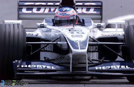 Jenson Button, Williams, Spa-Francorchamps, 2000