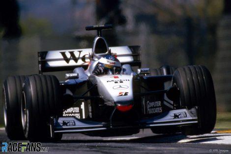 Mika Hakkinen, McLaren, Imola, 2000