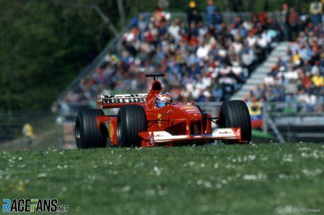 Michael Schumacher, Ferrari, Imola