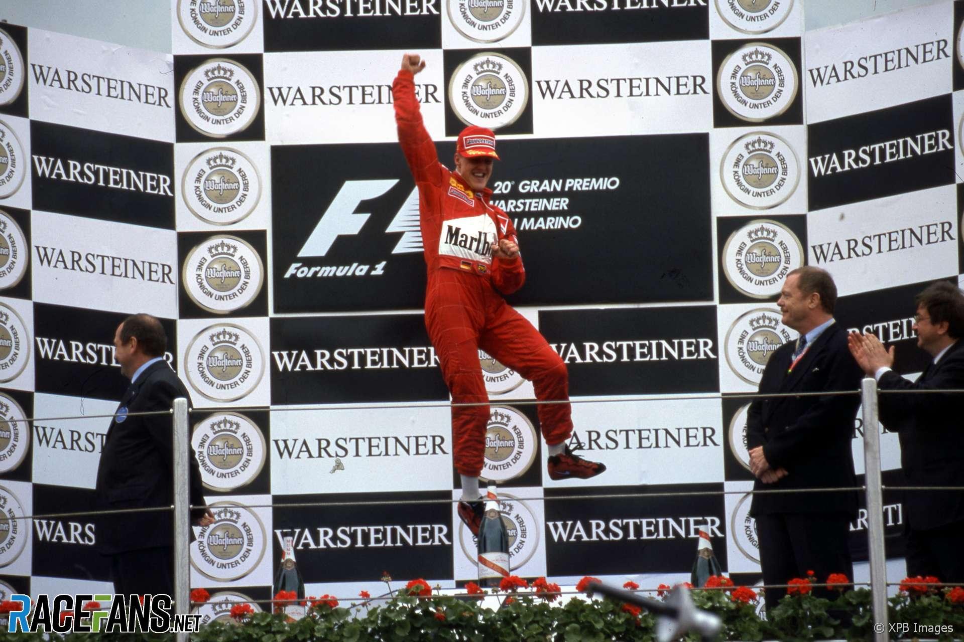 Michael Schumacher, Ferrari, Imola, 2000
